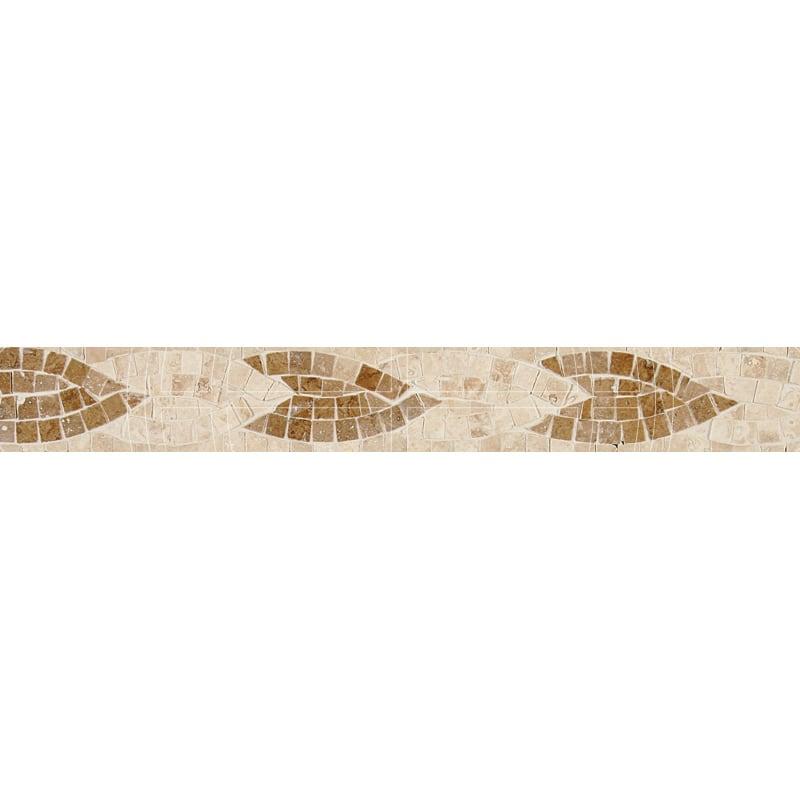 Sage Honed&polished 5x40,6 Mermer Bordur