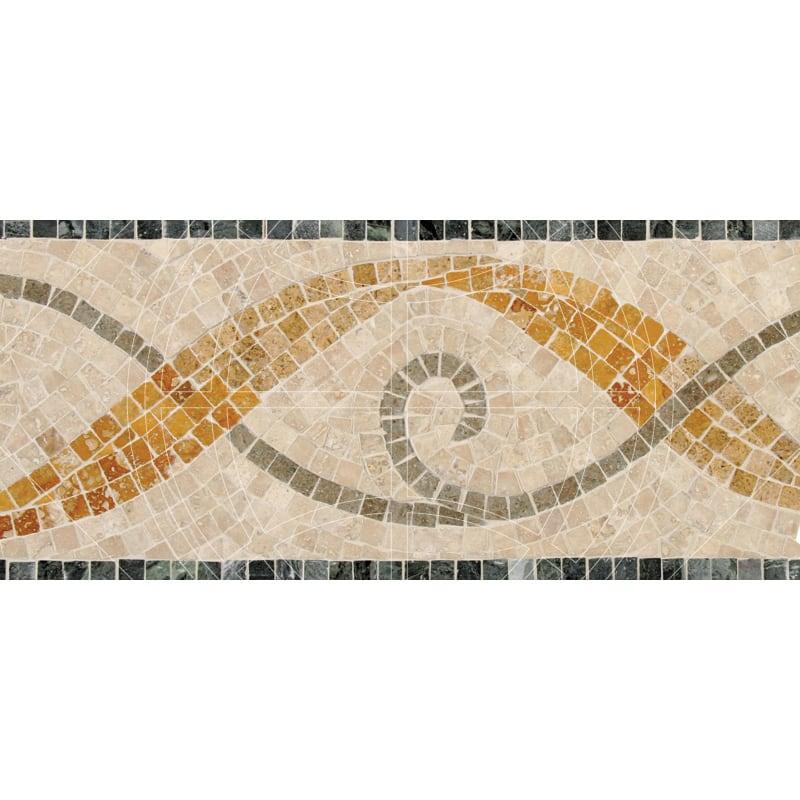 Cilantro Honed&polished 15,2x40,6 Mermer Bordur