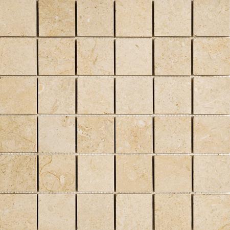 Seashell Honed 30,5x30,5 50x50 Limestone Mozaik