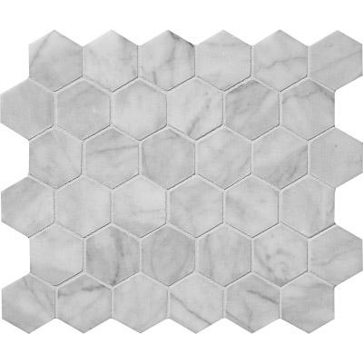 Avenza Honed 26,5x31 Hexagon Mermer Mozaik