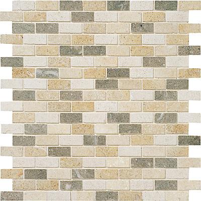 Lizola Honed 30,5x30,5 5/8x1 1/2 Limestone Mozaik