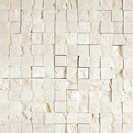 Desert Cream Rock Face 32x32 2,3x2,3 Mermer Mozaik