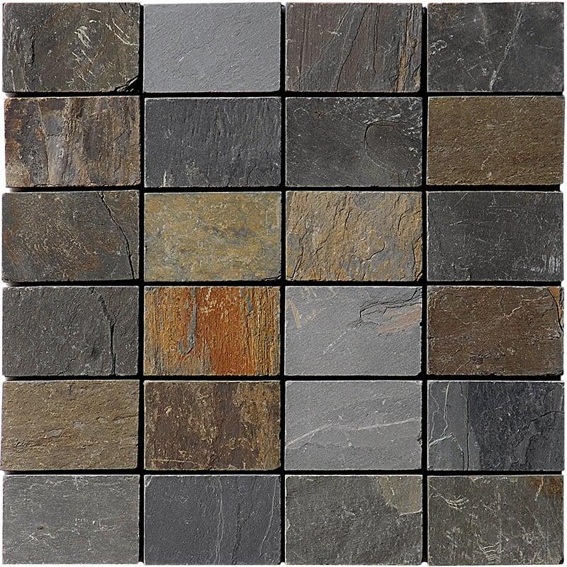 Arizona Gold Natural Cleft 30,5x30,5 50x75 Slate Mozaik