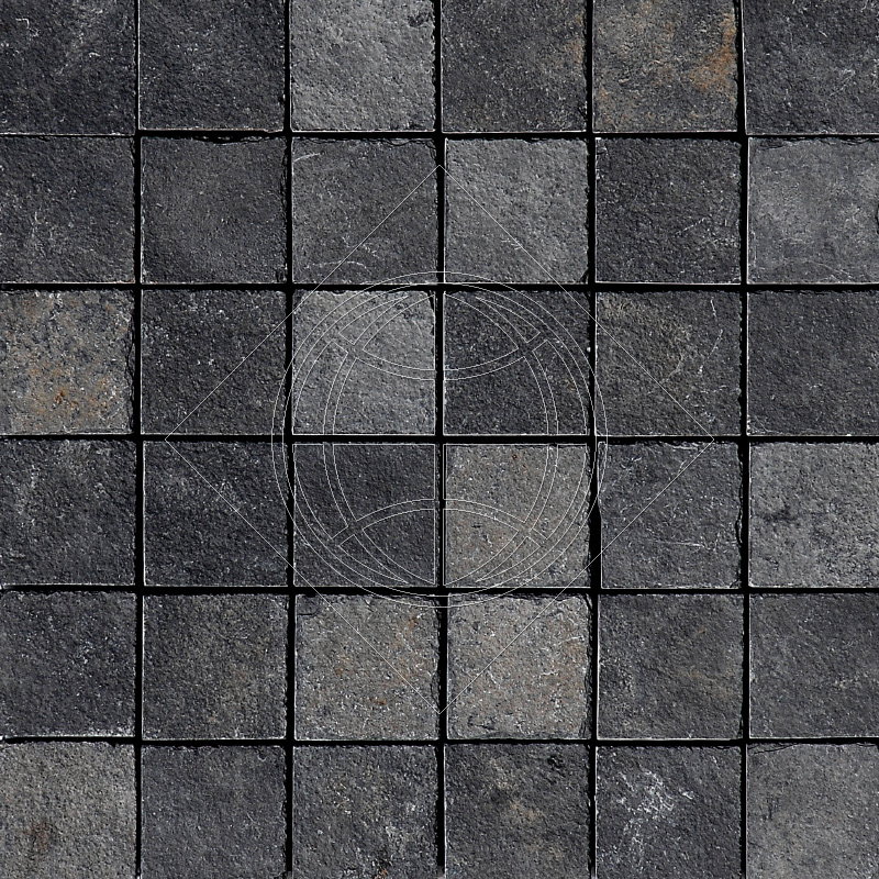 Night Black Natural Cleft 30,5x30,5 50x50 Slate Mozaik