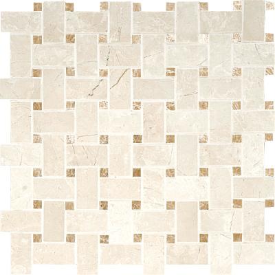 Delano Honed 31x31 Basket Weave Mermer Mozaik