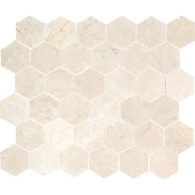 Princeton Polished 26,5x31 Hexagon Mermer Mozaik