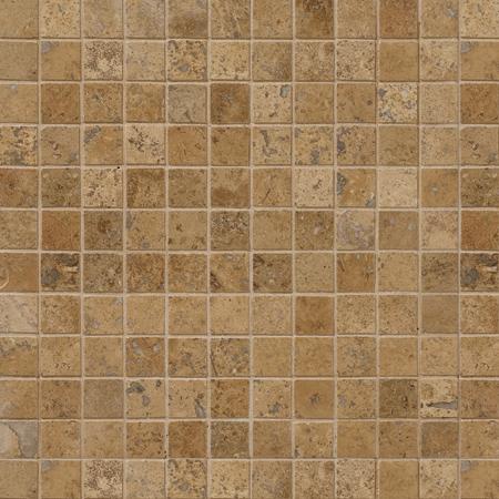 Walnut Dark Honed&filled 30,5x30,5 2,3x2,3 Traverten Mozaik