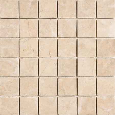 Crema Bella Tumbled 30,5x30,5 5x5 Mermer Mozaik