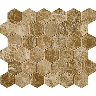 Paradise Polished 26,5x31 Hexagon Mermer Mozaik