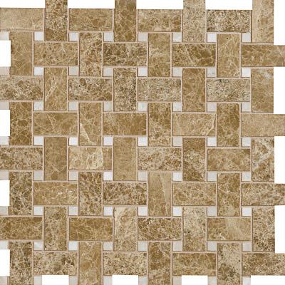 Paradise Polished 31x31 Basket Weave Mermer Mozaik