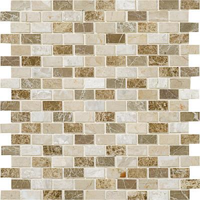 Milano Blend Polished 30,5x30,5 1,5x3 Mermer Mozaik