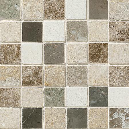 Chara Polished 30,5x30,5 2x2 Limestone Mozaik