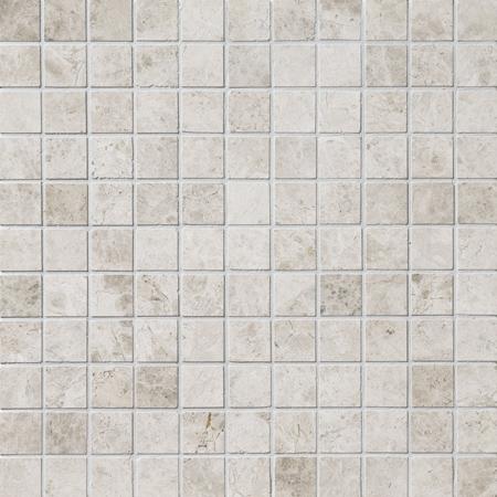 Silver Shadow Honed 30,5x30,5 2,3x2,3 Mermer Mozaik