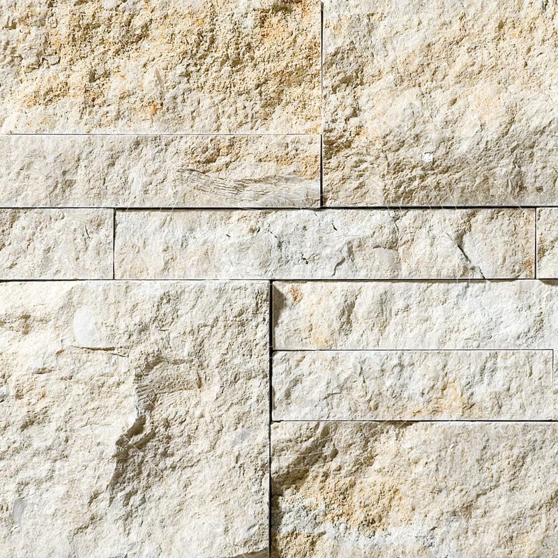 Seashell Split Face 20,5x30,5 Taco Limestone Mozaik