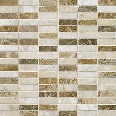 Milano Blend Polished 30,5x30,5 1,5x5 Mermer Mozaik