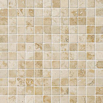 Canyon Honed&filled 30,5x30,5 2,3x2,3 Traverten Mozaik