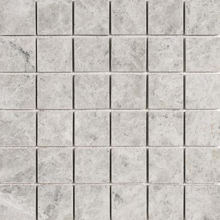 Silver Shadow Tumbled 30,5x30,5 2x2 Mermer Mozaik