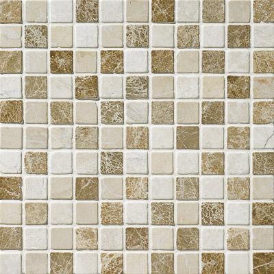 Milano Blend Tumbled 30,5x30,5 2,3x2,3 Mermer Mozaik