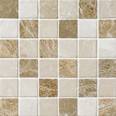 Milano Blend Tumbled 30,5x30,5 5x5 Mermer Mozaik