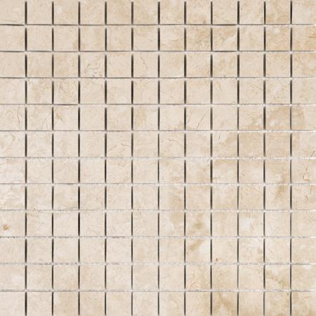Crema Bella Honed 30,5x30,5 2,3x2,3 Mermer Mozaik