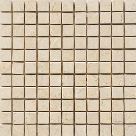 Crema Bella Tumbled 30,5x30,5 1x1 Mermer Mozaik