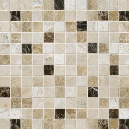 Milano Dark Blend Polished 30,5x30,5 2,3x2,3 Mermer Mozaik