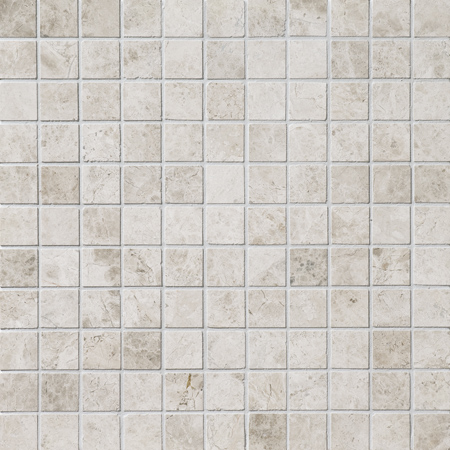 Silver Shadow Polished 30,5x30,5 2,3x2,3 Mermer Mozaik
