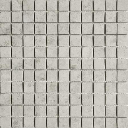 Silver Shadow Tumbled 30,5x30,5 2,3x2,3 Mermer Mozaik