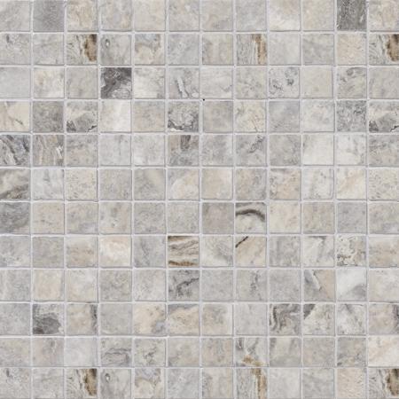 Silverado Honed&filled 30,5x30,5 2,3x2,3 Traverten Mozaik