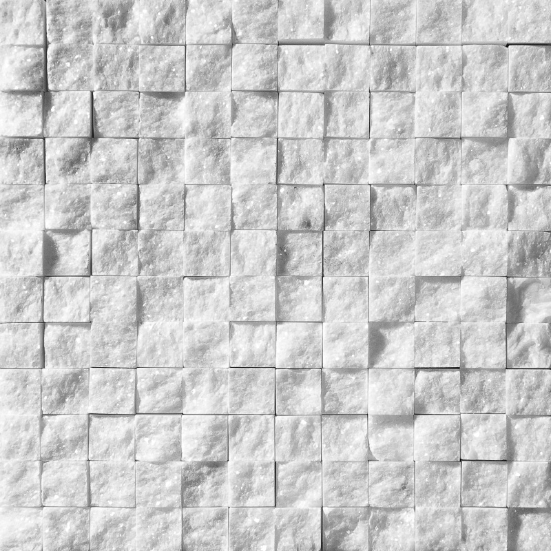 Avalon Rock Face 32x32 1x1 Mermer Mozaik