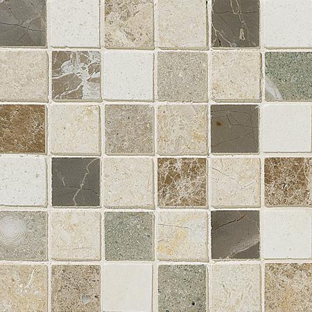 Chara Honed 30,5x30,5 5x5 Limestone Mozaik