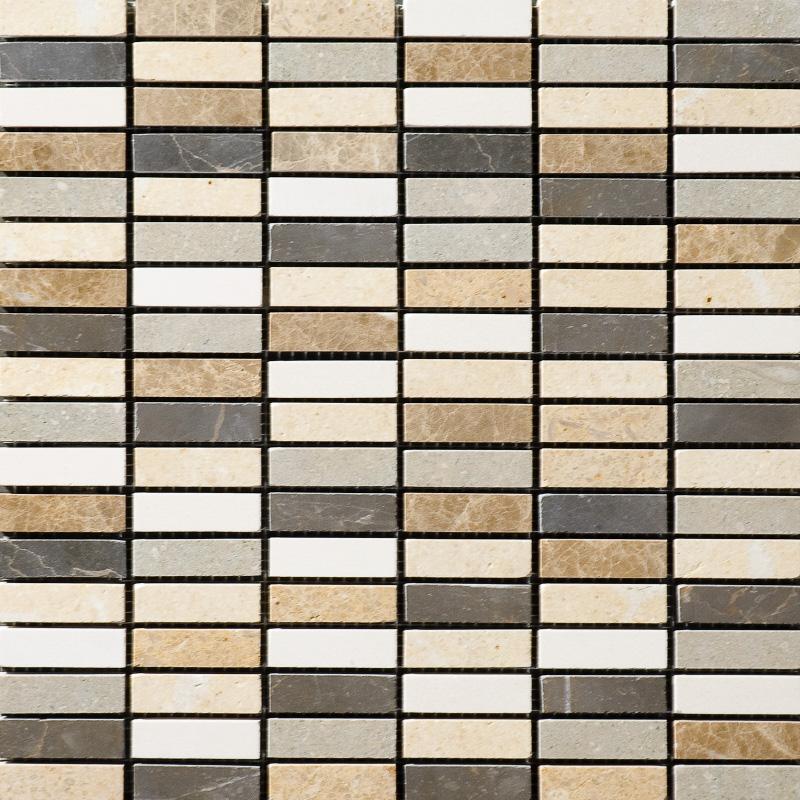 Chara Polished 30,5x30,5 1,5x5 Limestone Mozaik