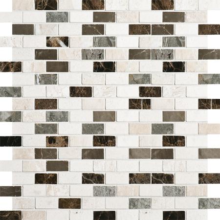Florence Polished 30,5x30,5 1,5x3 Mermer Mozaik