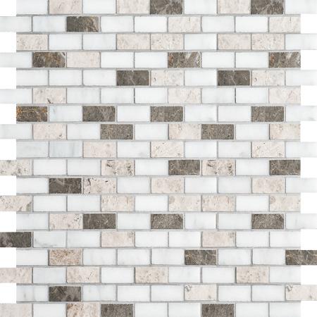 Massa Polished 30,5x30,5 5/8x1 1/4 Mermer Mozaik