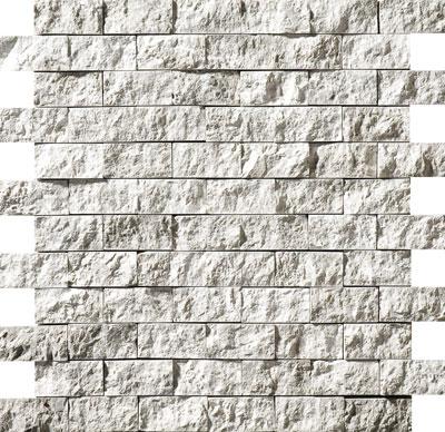 Silver Shadow Rock Face 32x32 2,5x5 Mermer Mozaik