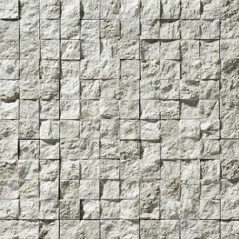 Silver Shadow Rock Face 30,5x30,5 1x1 Mermer Mozaik