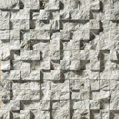 Silver Shadow Rock Face 30,5x30,5 2,3x2,3 Mermer Mozaik