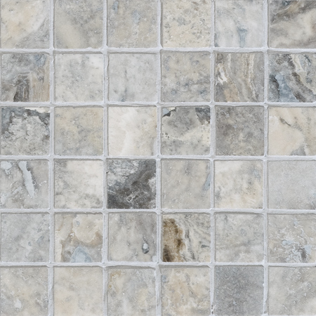 Silverado Honed&filled 30,5x30,5 2x2 Traverten Mozaik