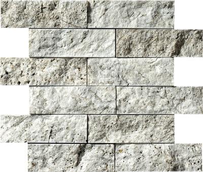 Silverado Rock Face 30,5x30,5 5x15,2 Traverten Mozaik