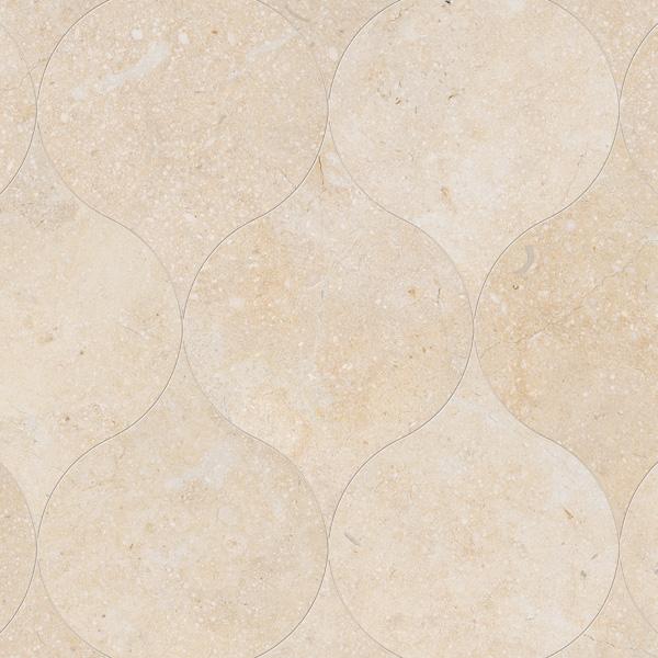 Casablanca Honed 12,5x17,5 Winter Leaf Mermer Fayans