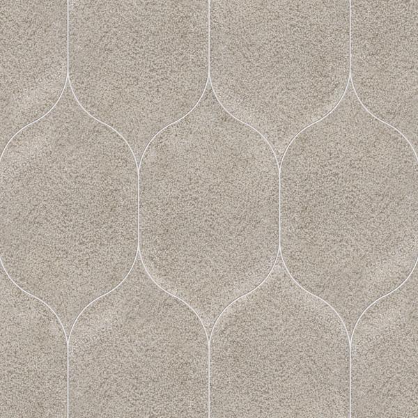 Gray Foussana Full Grain 12,5x22,5 Gothic Arabesque Mermer Fayans