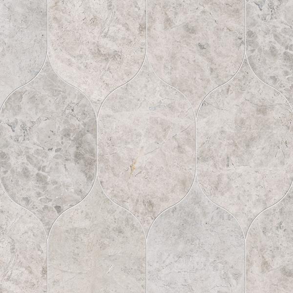 Silver Shadow Honed 12,5x22,5 Gothic Arabesque Mermer Fayans