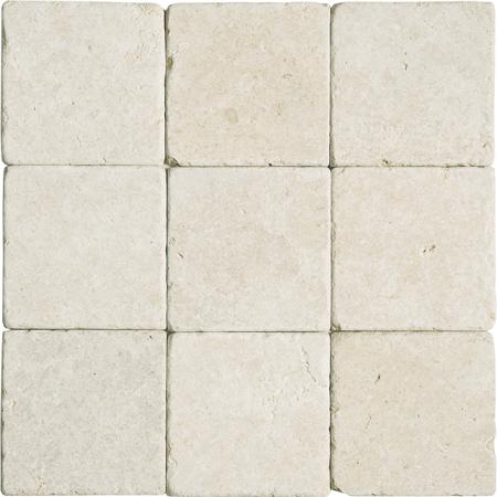 Seashell Tumbled Limestone Fayans