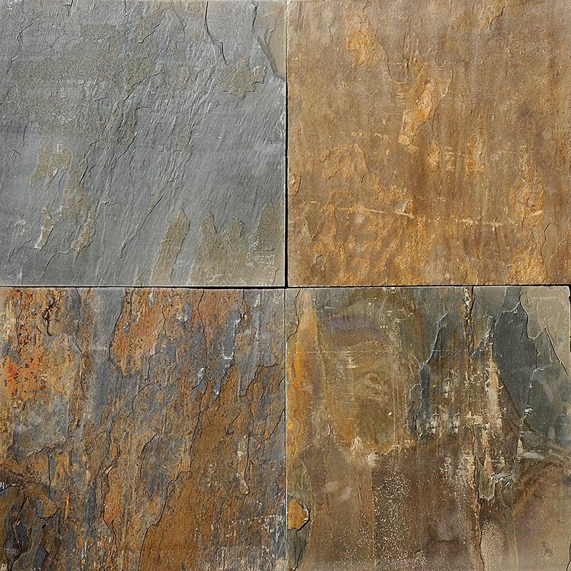 Arizona Gold Natural Cleft Slate Fayans