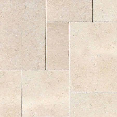 Seashell Antiqued Limestone Pattern