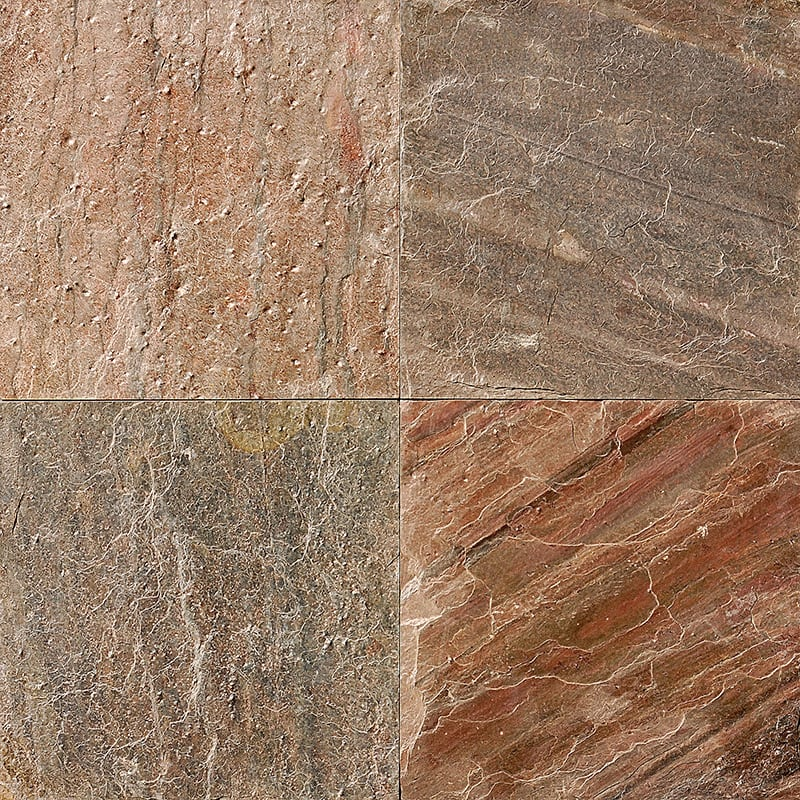 Flame Natural Cleft Slate Fayans