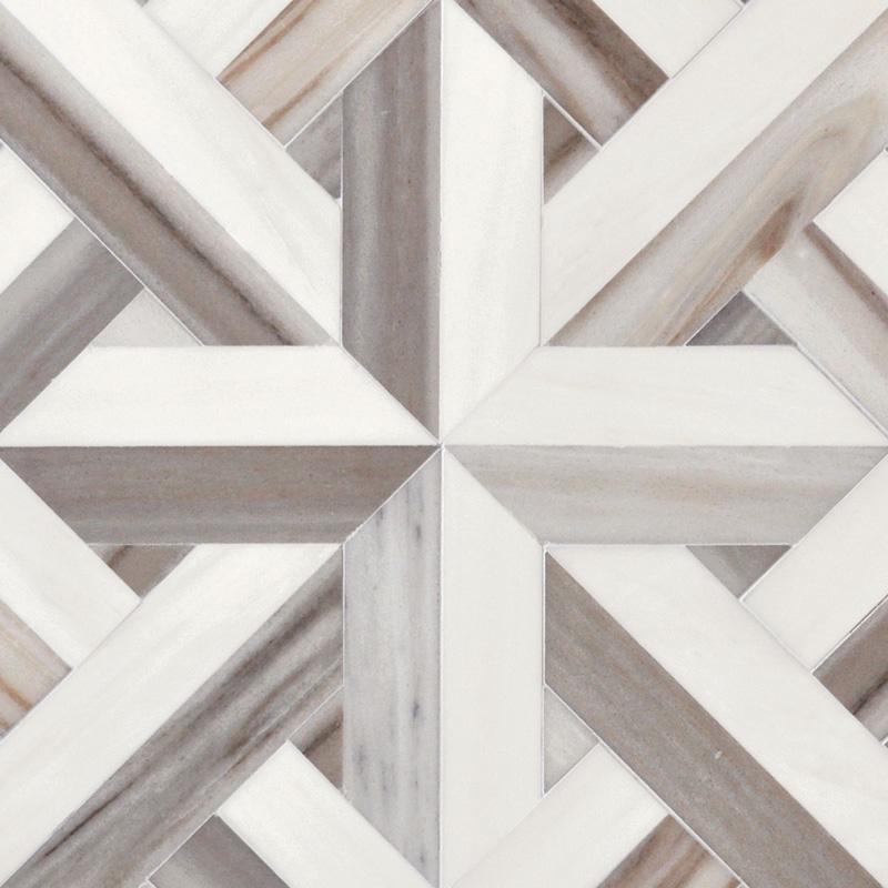 Dolomite, Skyline Vein Cut Multi Finish 43,18x43,18 Rubicon Mermer Mozaik