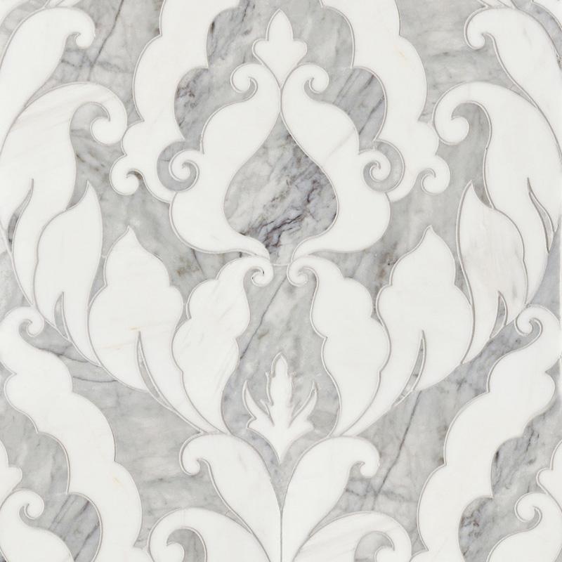 Avenza Dark, Dolomite Multi Finish 34,44x45,7 Rumi Mermer Mozaik