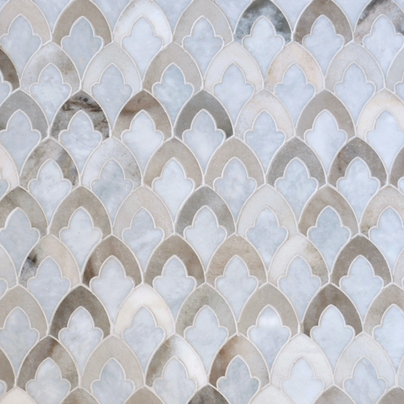 Afyon Grey, Palisandra Multi Finish 22,32x34,22 Sophia Mermer Mozaik