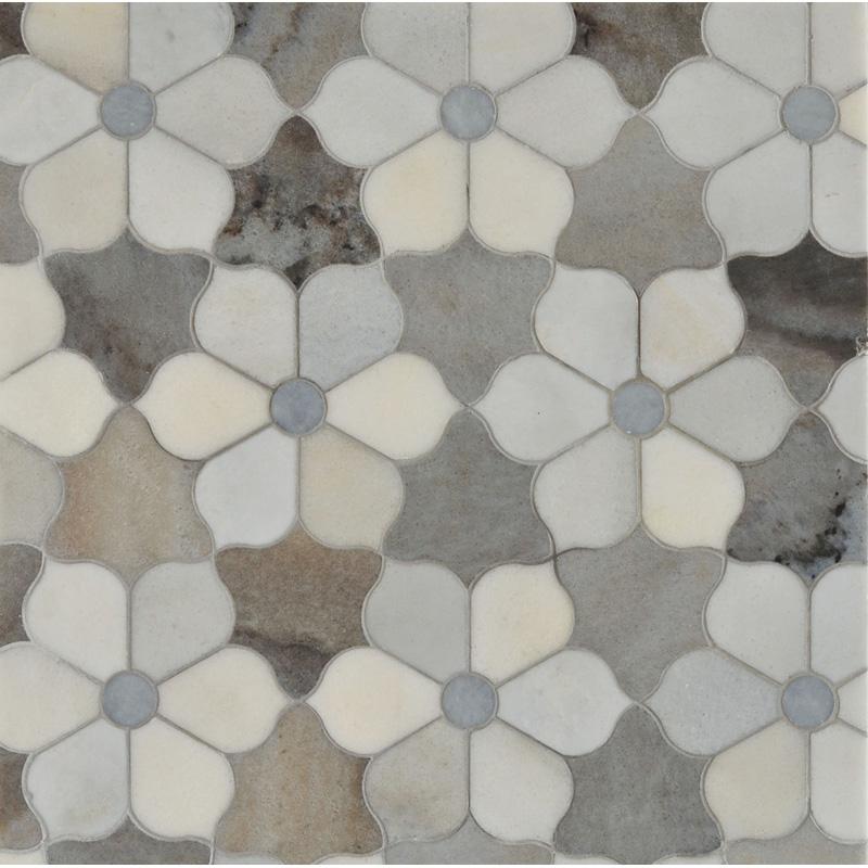 Afyon Grey, Palisandra, Skyline Multi Finish 30,81x35,56 Theodora Mermer Mozaik